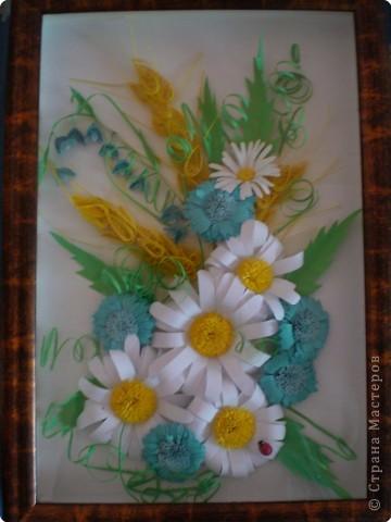 Квиллинг: Полевые цветы фото 2