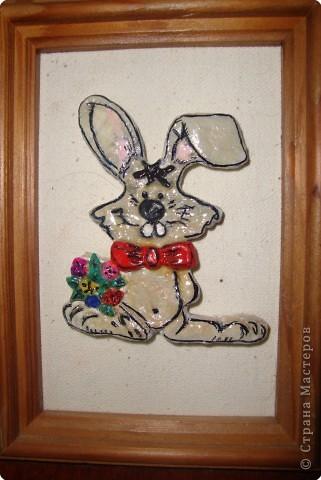 Лепка: Заяц-побегаяц.