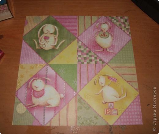 Представляю  вашему  вниманию  Мастер  класс по  созданию  маленького   детского альбомчика  для  фотографий.        фото 4
