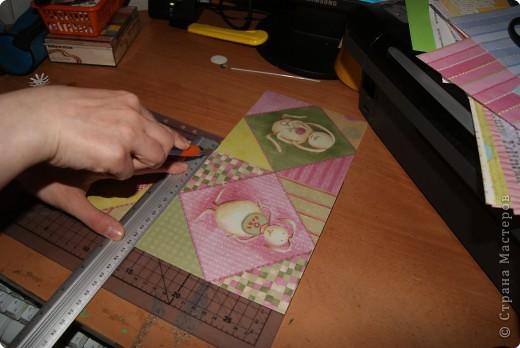 Представляю  вашему  вниманию  Мастер  класс по  созданию  маленького   детского альбомчика  для  фотографий.        фото 5