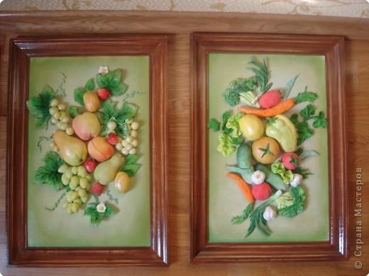 Лепка: А вот еще фрукты, овощи
