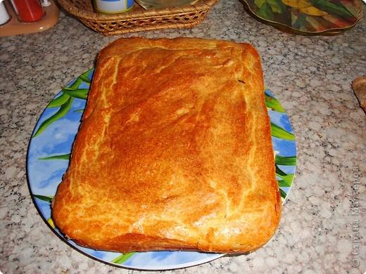 Кулинария Мастер-класс Рецепт кулинарный Пирог с картошкой и рыбными консервами Продукты пищевые фото 1