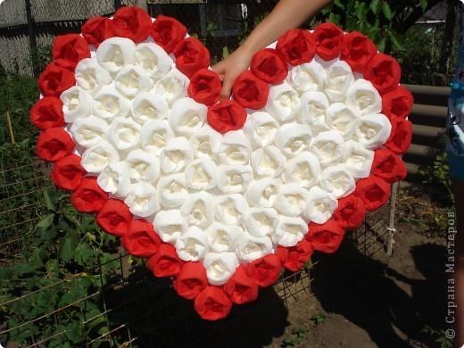 Сердечки из салфетки своими руками