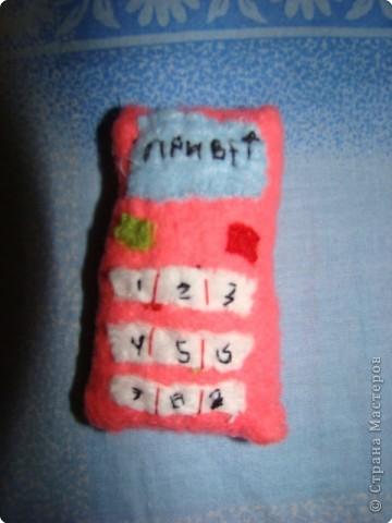Игрушка мягкая: телефон. позвони мне, позвони фото 2