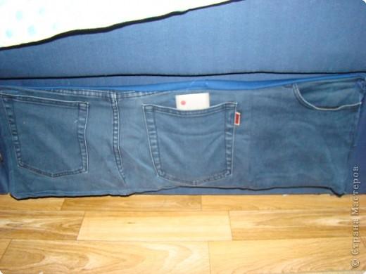 выкройка сумки из джинсов