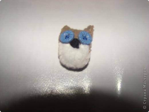 Игрушка мягкая: совята фото 2