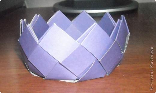 Плетение из картона фото 2