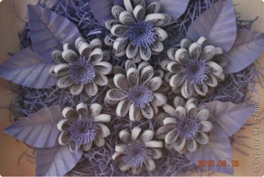 Вот такое трио цветочно-силиконовое сделала по просьбе сотрудницы. Вариант 1 фото 6