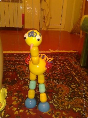 Вот такой страусенок у меня получился из... фото 1