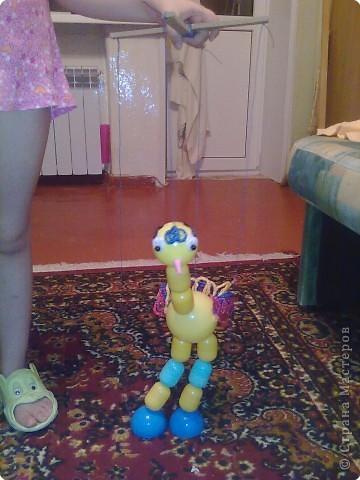 Вот такой страусенок у меня получился из... фото 4