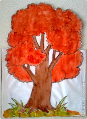 детские осенние рисунки: