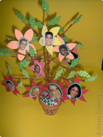 Коллективная работа Поздравление Выпускной День семьи Бисероплетение Моя семья Генеалогическое древо Бисер фото 3.