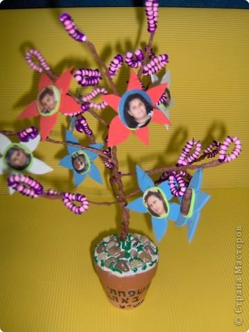 Коллективная работа Поздравление Выпускной День семьи Бисероплетение Моя семья Генеалогическое древо Бисер фото 8.