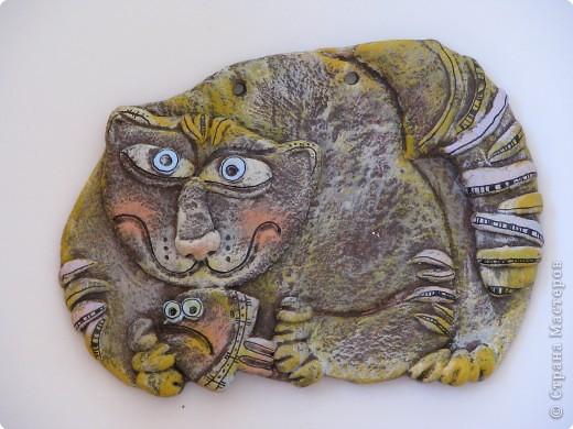 Лепка, Роспись: кошки кошки котята