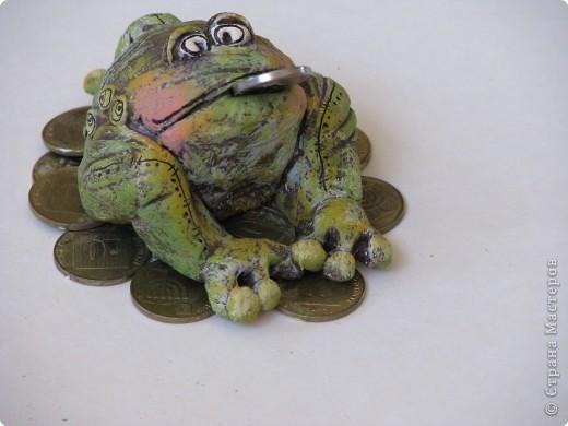 Трехлапая жаба на монетках - талисман для привлечения денежной удачи.