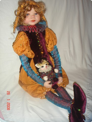 Авторские куклы из полимерной глины своими руками фото 947
