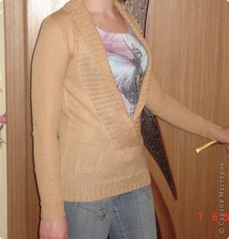 Вязание спицами: Свитер фото 2