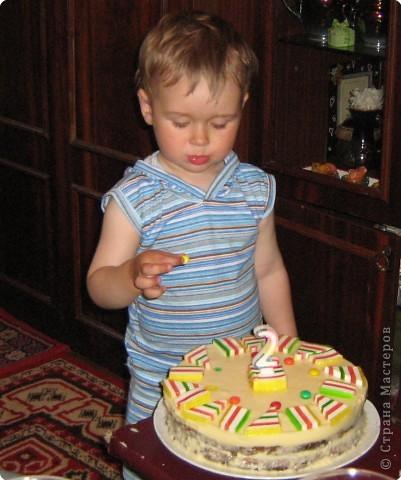 Делала Владюше на день рождения.