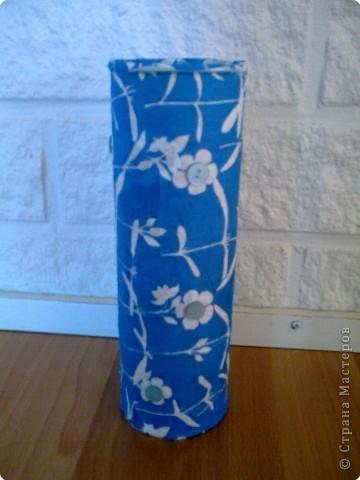 Декупаж: ваза