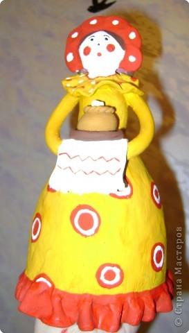 Дымковская кукла фото 20