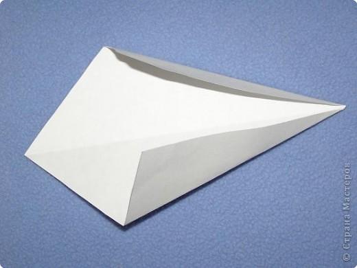 Вот такую открытку-конверт предлагаю вам сделать(купюра в комплект не входит).Понадобится лист цветной бумаги. фото 11