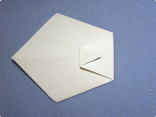 Вот такую открытку-конверт предлагаю вам сделать(купюра в комплект не входит).Понадобится лист цветной бумаги. фото 13