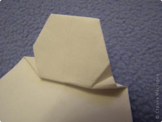 Вот такую открытку-конверт предлагаю вам сделать(купюра в комплект не входит).Понадобится лист цветной бумаги. фото 15