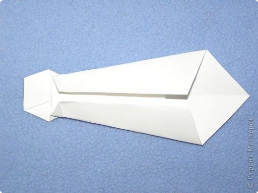 Мастер-класс Открытка Оригами