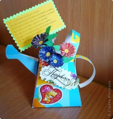 леечки с цветочками  фото 2