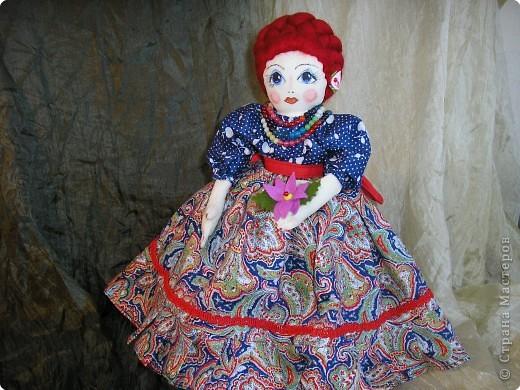 Кукла-грелка на самовар фото 27