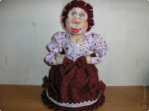 Кукла-грелка на самовар фото 28