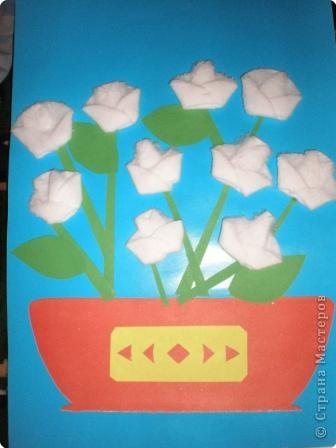 Оригами из кругов: Розочки