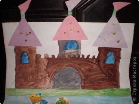Рисование и живопись: Замок