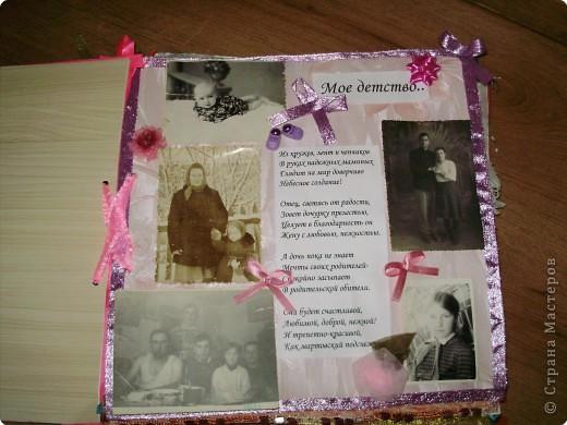 Фотоальбом на день рождения дочери