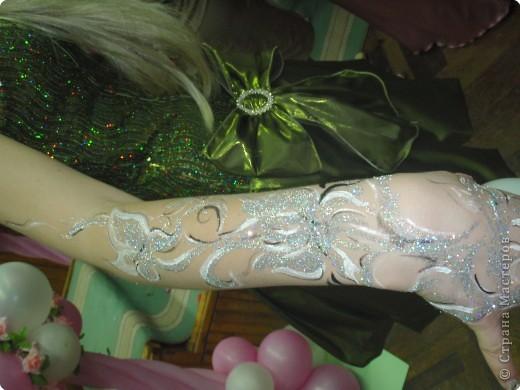 """боди-арт (хорошее подспорье для завершения """"образа"""" девчонок на выпускной вечер) фото 4"""