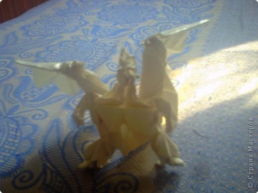 Проект Оригами Ещё один дракон