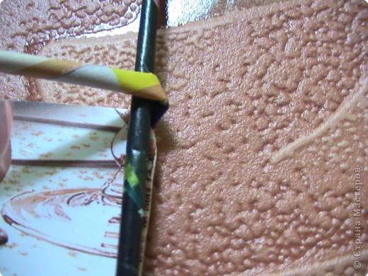 Мастер-класс Плетение КОСОЕ плетение МК Бумага газетная Бумага журнальная фото 6