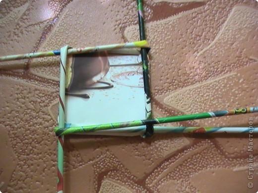 Мастер-класс Плетение КОСОЕ плетение МК Бумага газетная Бумага журнальная фото 14