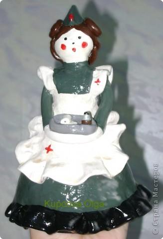 Дымковская кукла фото 25