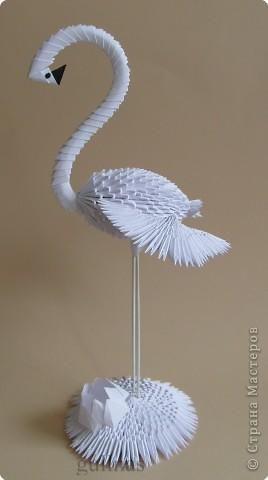 Из модулей оригами из белой бумаги схемы