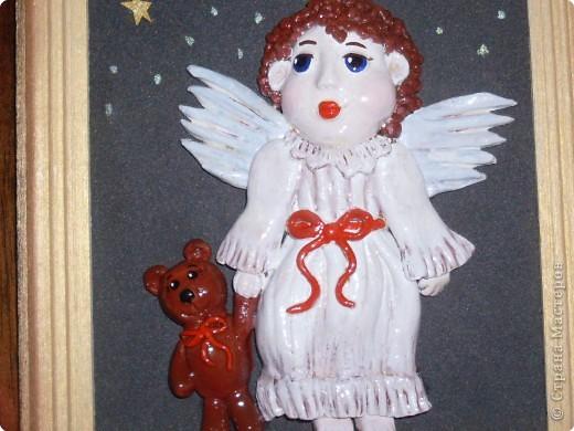 Муж сказал,что первый ангелочек даже лучше получился. Не выходят у мя лица... Эх! фото 2