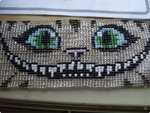 бисера схема чеширский кот