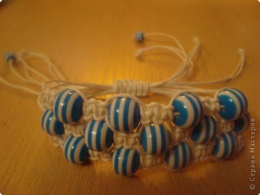 Макраме: браслет для подруги
