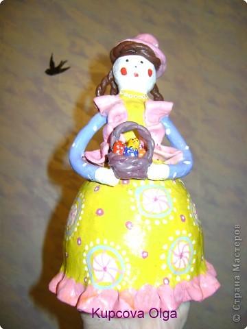 Дымковская кукла фото 24