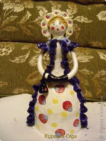 Дымковская кукла фото 22