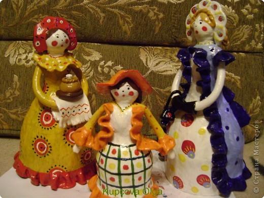 Дымковская кукла фото 1