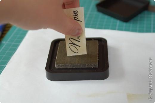 Декор предметов Мастер-класс Аппликация МК по изготовлению обложки на паспорт Бумага фото 11