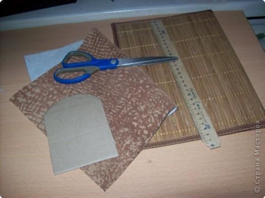 За основу взяла бамбуковую салфетку. фото 2