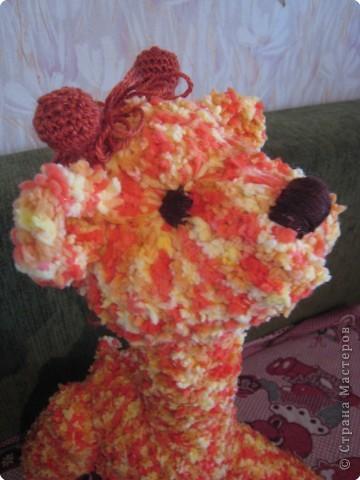 Вязание крючком: Жирафик Веснушка фото 2