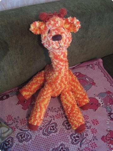 Вязание крючком: Жирафик Веснушка фото 1